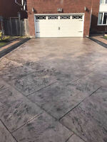 Interlocking, Concrete Stamped, Deck and Fence - Mr.Chan