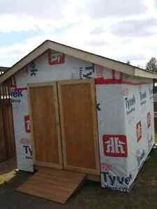 "Brand new shed 10"" x 12"" with 7 1/2 foot ceilings. $1700 obo"
