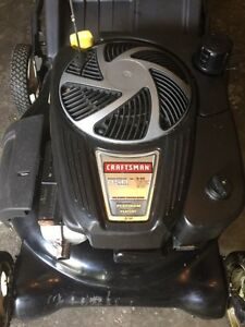 "Craftsman 21""  8.50hp most powerful Lawnmower, near new with bag"