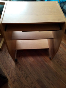 Computer desk with keyboard tray  today 30.00