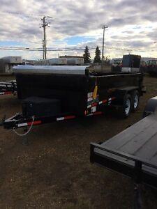 2017 Rainbow 14'  Dump Trailer with Tarp/Spare Edmonton Edmonton Area image 1