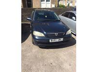 Vauxhall Astra 2003 petrol/LPG mot Feb 17