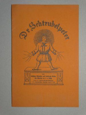 Dr Schtrubelpeter - H. Hoffmann - Struwwelpeter berndeutsch Helvetica - 1926