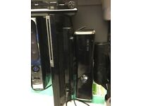 Ps3 40gb and xbox360 250gb