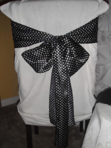 Table Runners and Chair ties