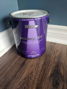 Behr Marquee - Blue-grey eggshell paint (3.4L)