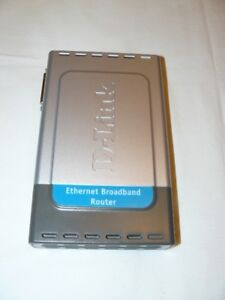 D-Link Broadband Router with Print Server