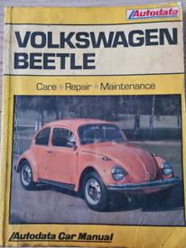 VW Beetle 1968-1978