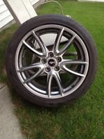 19' FORD MUSTANG 255-40-ZR19 BRAND NEW $1200 FIRM