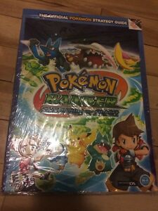 Pokemon ranger shadows of almia guide BOOK new livre neuf