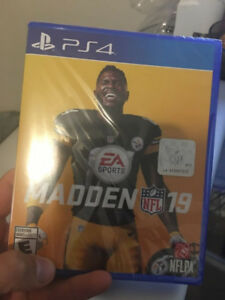 Madden NFL 19 - PS4 - PlayStation 4 Game - Sealed Brand New