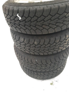 On mags : Goodyear Nordic Winter 175 65 R14