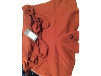 Over the bump linen shorts from New Look BNWT