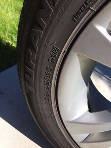 BMW All season tires/rims 205/55R 16 for all 3 series BMW cars