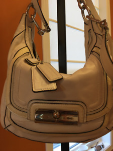 LIKE NEW AUTHENTIC COACH PURSE with silver hardware