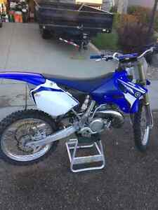 2008 yamaha YZ 250 2 stroke with less than 20 hrs on it!