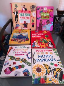 Garderie :Livres de bricolage avec patrons, CD de jeux