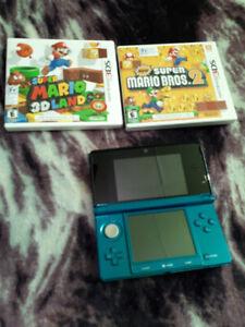 Nintendo 3DS +2 jeux