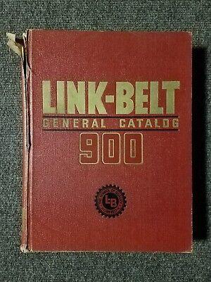 Link-Belt General Catalog 900 1950 Hardcover