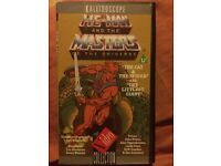 Vintage He Man and the Masters of the universe. VHS mint condition collectors item