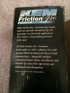 KEM Friction Pro Premium Disc Brake Pads