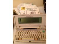 Canon Starwriter Electronic Typewriter
