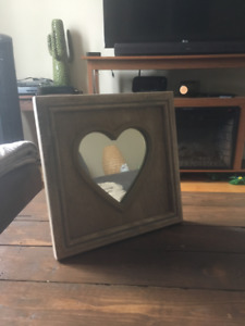Heart Mirror Decor