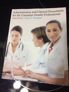 Administrative & Clinical Procedures for Canadian Health Book