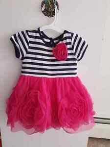 6-9 month old baby girl dress  $20