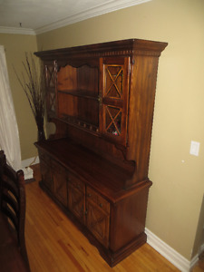 Rustic Dining Room Hutch and TV Cabinet for sale