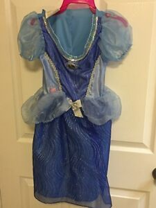 Cinderella Costume with lights (size 4-6x)