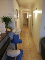 professionnal massotherapy and health care clinic for sale
