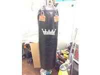 Punch bag boxing