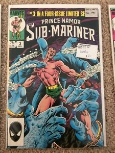 Prince Namor Sub-Mariner - Limited Four Issue Series London Ontario image 2