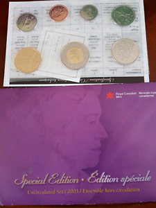 2003 special edition coin set