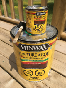 Minwax Wood Finish Stain - Dark Walnut 2716