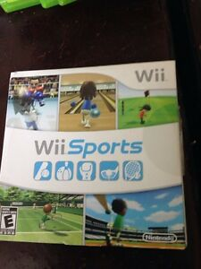 Wii console with wifi fit and games