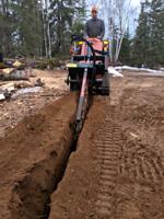 Excavation, Trenching, Skidsteer Service