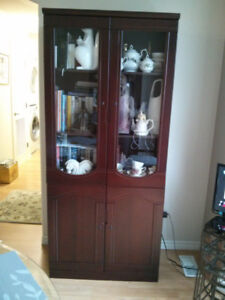 BOOKCASES / DISPLAY CASES  $250. EACH