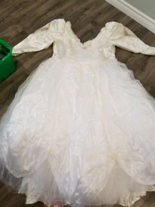 Plus size wedding dress size 20