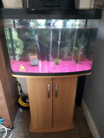 64L fish tank with stand