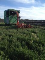 Small silage unit
