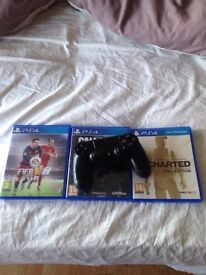 Ps4 games and pad