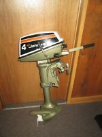 4 HP JOHNSON WEEDLESS OUTBOARD