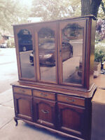 Gibbard Craftsmen Buffet & Hutch for Sale - good cond. $100 OBO
