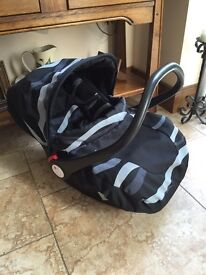 Baby carseat perfect condition