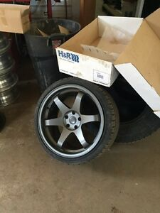 """19x9.5"""" Fast wheels and new tires"""