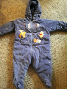 Disney 6-9 month snowsuit