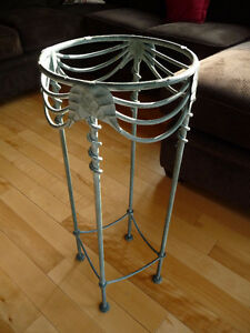 Beautiful Wrought Iron Table Stand ..... Hand-Crafted