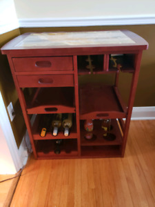 table/lamp stand/wine rack